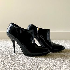 GUCCI Women Patent Leather her Ankle Boots